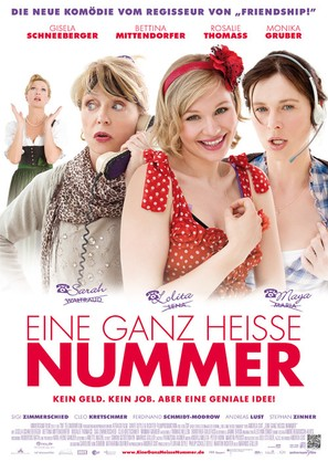Eine ganz heiße Nummer - German Movie Poster (thumbnail)