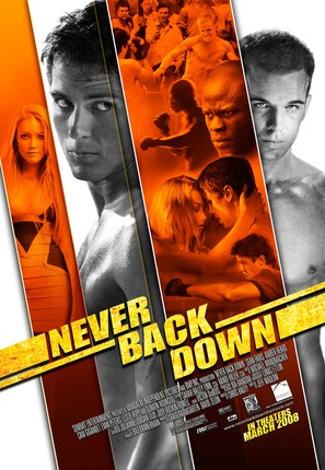 Never Back Down - Movie Poster (thumbnail)