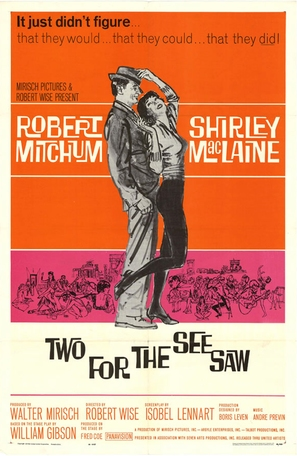 Two for the Seesaw - Movie Poster (thumbnail)