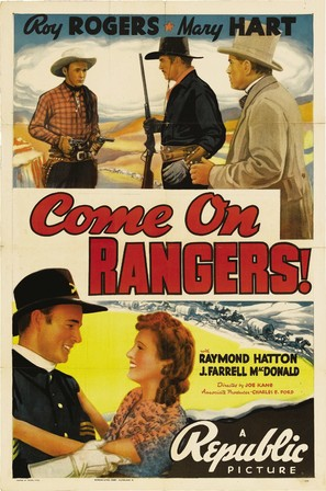 Come On, Rangers - Movie Poster (thumbnail)