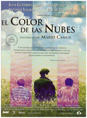 Color de las nubes, El - Spanish poster (thumbnail)
