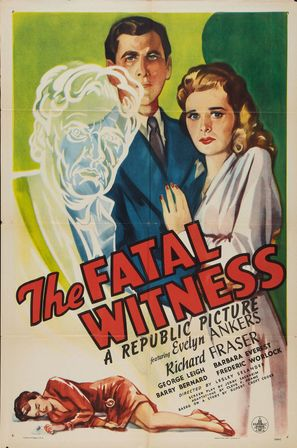 The Fatal Witness - Movie Poster (thumbnail)