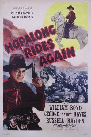 Hopalong Rides Again - Movie Poster (thumbnail)
