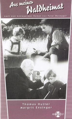 Aus meiner Waldheimat - German VHS movie cover (thumbnail)