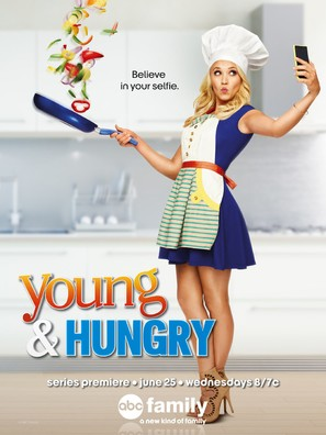 """""""Young & Hungry"""" - Movie Poster (thumbnail)"""