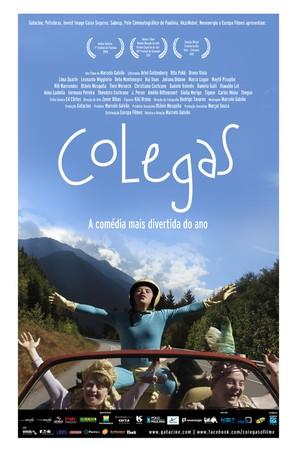 Colegas - Brazilian Movie Poster (thumbnail)