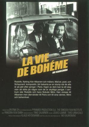 La vie de bohème - Swedish Movie Poster (thumbnail)