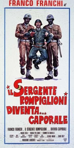 Sergente Rompiglioni diventa... caporale