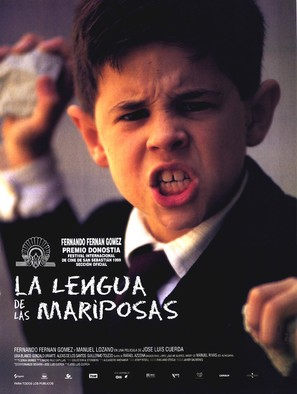 La lengua de las mariposas - Spanish Movie Poster (thumbnail)