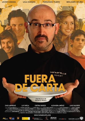 Fuera de carta - Spanish Movie Poster (thumbnail)