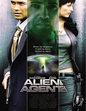 Alien Agent - Canadian Movie Poster (thumbnail)