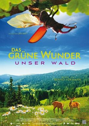 Das grüne Wunder - Unser Wald - German Movie Poster (thumbnail)