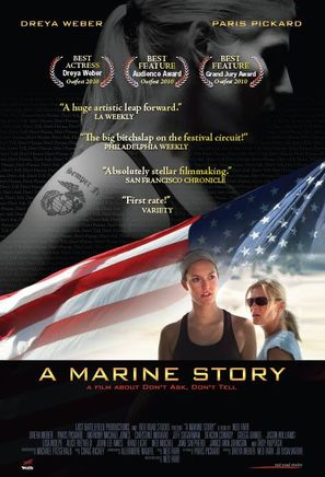 A Marine Story - Movie Poster (thumbnail)