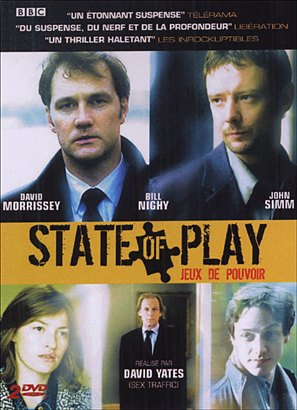 """""""State of Play"""" - French DVD movie cover (thumbnail)"""