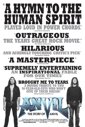 Anvil! The Story of Anvil - Canadian Movie Poster (thumbnail)