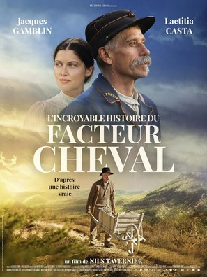 L'incroyable histoire du facteur Cheval - French Movie Poster (thumbnail)