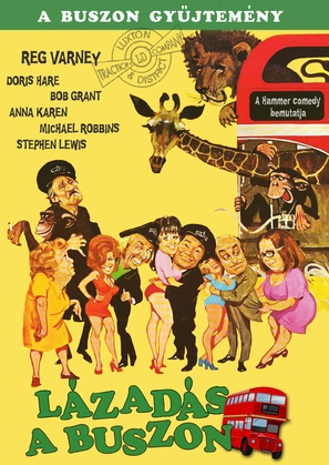 Mutiny on the Buses - Hungarian Movie Poster (thumbnail)