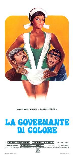 Una bella governante di colore - Italian Movie Poster (thumbnail)