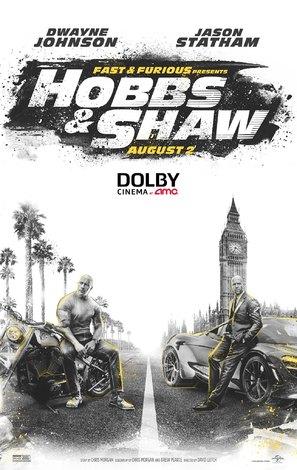 Fast & Furious Presents: Hobbs & Shaw - Movie Poster (thumbnail)