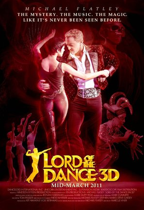Lord of the Dance in 3D - Movie Poster (thumbnail)