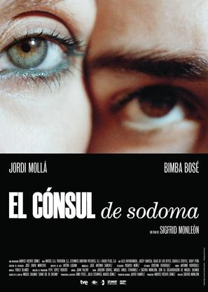 El cónsul de Sodoma - Spanish Movie Poster (thumbnail)