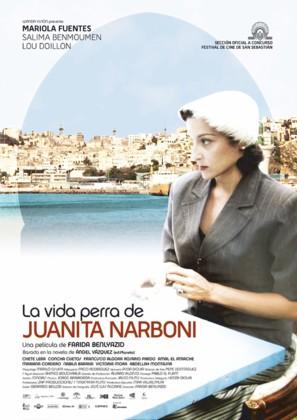Vida perra de Juanita Narboni, La - Spanish Movie Poster (thumbnail)