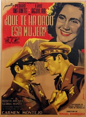 ¡¿Qué te ha dado esa mujer?! - Mexican Movie Poster (thumbnail)