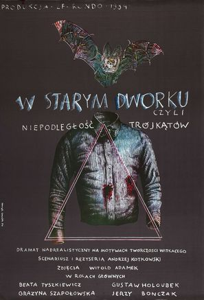 W starym dworku czyli niepodleglosc trójkatów - Polish Movie Poster (thumbnail)