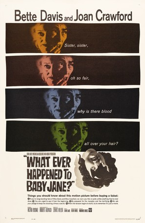 What Ever Happened to Baby Jane? - Theatrical movie poster (thumbnail)