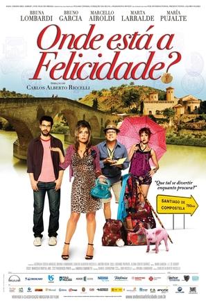 Onde está a felicidade? - Brazilian Movie Poster (thumbnail)