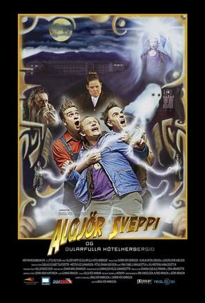 Algjör Sveppi og dularfulla hótelherbergið - Icelandic Movie Poster (thumbnail)