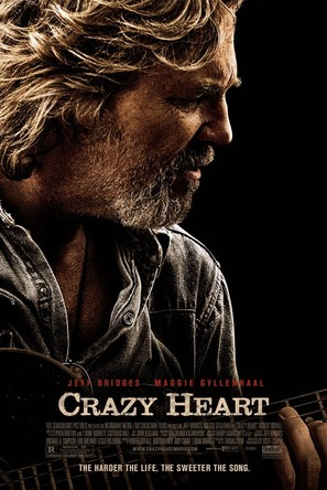Crazy Heart - Theatrical movie poster (thumbnail)