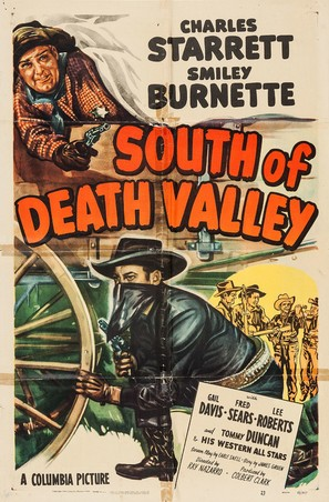 South of Death Valley - Movie Poster (thumbnail)