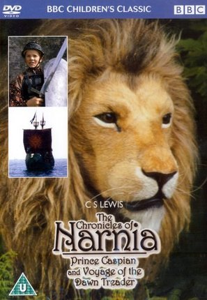 """Prince Caspian and the Voyage of the Dawn Treader"" - British Movie Cover (thumbnail)"