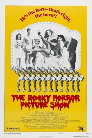 The Rocky Horror Picture Show - Movie Poster (thumbnail)