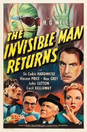 The Invisible Man Returns - Movie Poster (thumbnail)