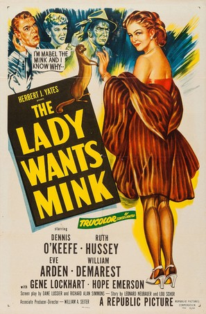 The Lady Wants Mink - Movie Poster (thumbnail)