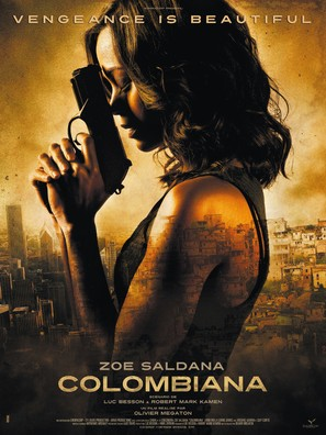 Colombiana - French Movie Poster (thumbnail)