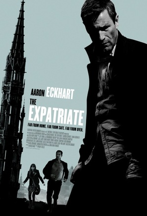 The Expatriate - British Movie Poster (thumbnail)
