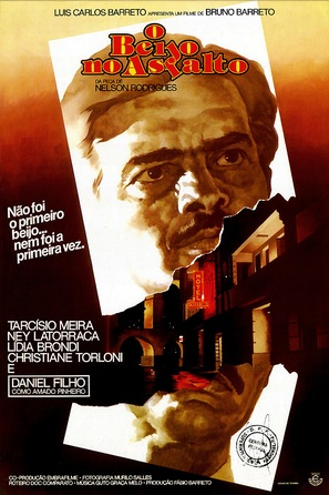 O Beijo No Asfalto - Brazilian Movie Poster (thumbnail)