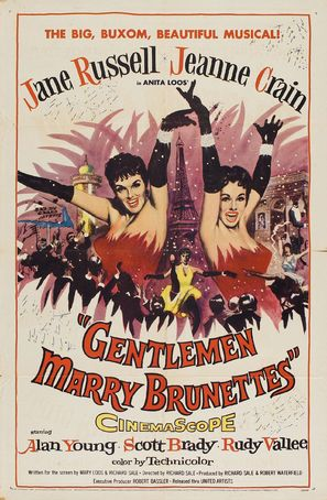 Gentlemen Marry Brunettes - Movie Poster (thumbnail)