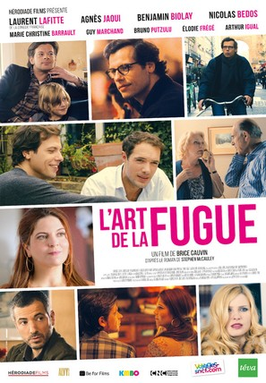L'art de la fugue - French Movie Poster (thumbnail)