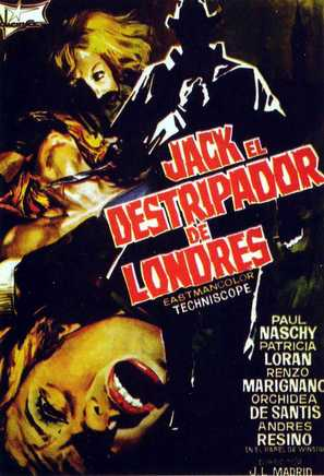 Jack el destripador de Londres - Spanish Movie Poster (thumbnail)