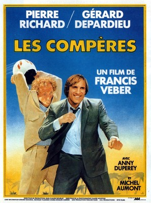 Les compères - French Movie Poster (thumbnail)