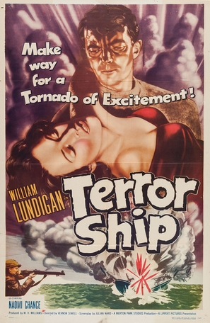 Dangerous Voyage - Movie Poster (thumbnail)