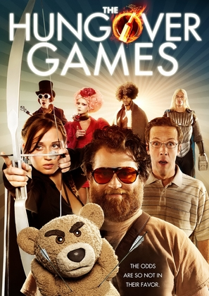 The Hungover Games - DVD cover (thumbnail)