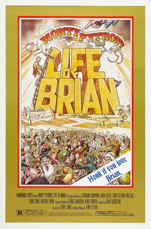 Life Of Brian - Theatrical movie poster (thumbnail)