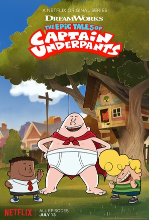 """The Epic Tales of Captain Underpants"" - Movie Poster (thumbnail)"