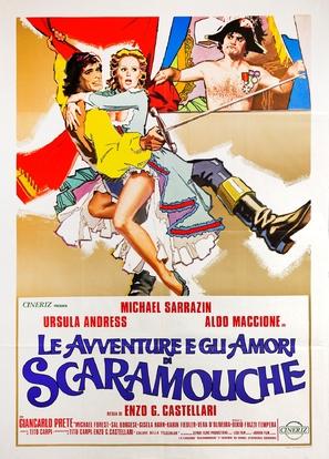 Avventure e gli amori di Scaramouche, Le - Italian Movie Poster (thumbnail)