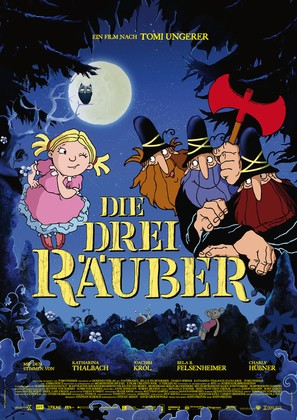 Die drei Räuber - German Movie Poster (thumbnail)